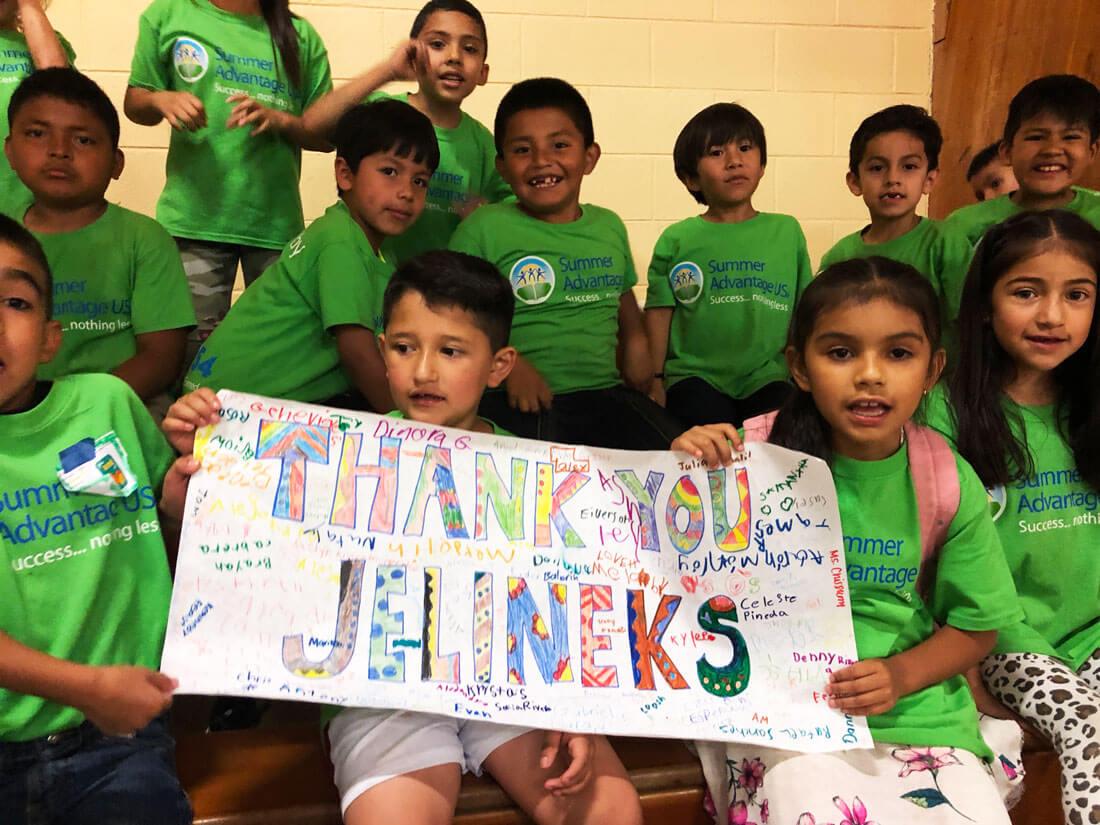 Thank you Jelineks