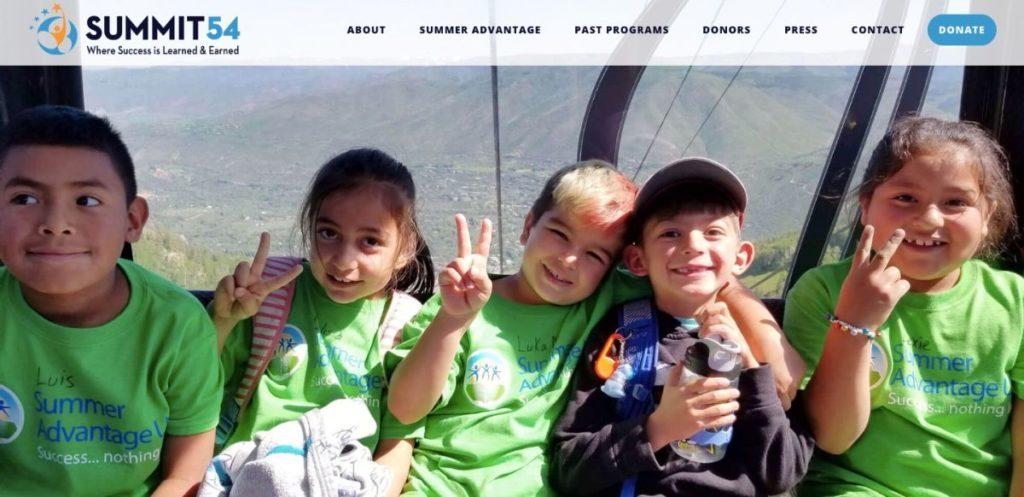 Summit 54 Redesigned website